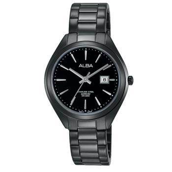 ALBA雅柏 簡約生活時尚女用不鏽鋼腕錶/30mm/VJ22-X234SD