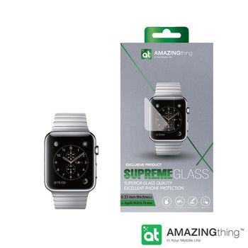 AmazingThing Apple Watch 42mm 曲面強化玻璃保護貼