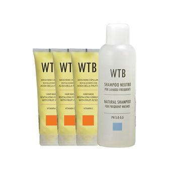 昂賽芙 美髮組_溫和洗髮1000ml+果酸潤護髮膜250mlx3