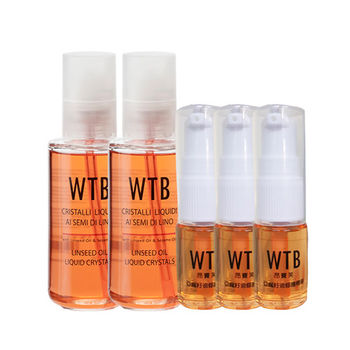 義大利原裝 WTB昂賽芙 亞麻籽免沖洗護髮精華 超值組 100mlx2+15mlx3