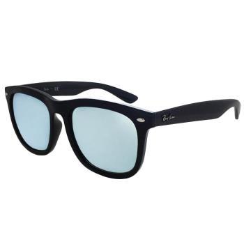 【Ray Ban 雷朋】NEW!!RB4260D-601/30-韓系方框太陽眼鏡(黑框#水銀鏡面)
