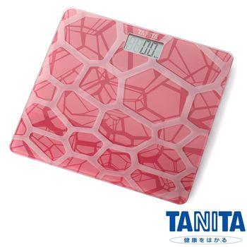 【日本TANITA】時尚超薄電子體重計HD-380(粉紅)