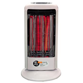 【伊娜卡】可擺頭直立碳素電暖器(雙管式) ST-3816T