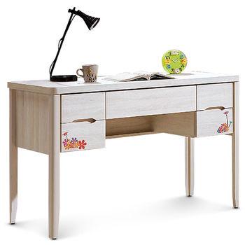 【MY傢俬】歐風彩繪4尺書桌