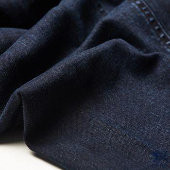 【NST Jeans】395(66405) 美式搖滾金屬 復古丹寧藍側袋牛仔褲(中腰) 亮點是右側大腿上的金屬隱藏暗袋