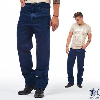 【NST Jeans】395(66406) 1980 性格派 美式復古單寧  彈性牛仔長褲(中腰)  隨興自適的美式風格