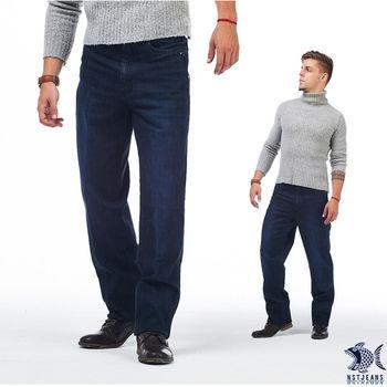 【NST Jeans】395(66408) No Fear美式復古單寧  彈性牛仔長褲(中腰)  隨興自適的美式風格