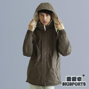 SKISPORTS蓄熱保暖雙面穿羽絨大衣