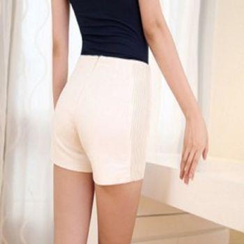 夏女裝超短褲大碼休閒顯瘦純色熱褲 2入