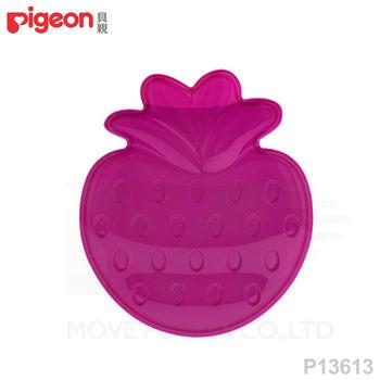 日本《Pigeon貝親》冰涼固齒器(草莓)