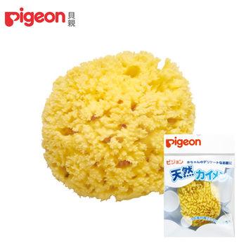 日本《Pigeon 貝親》天然沐浴海綿(日本製)