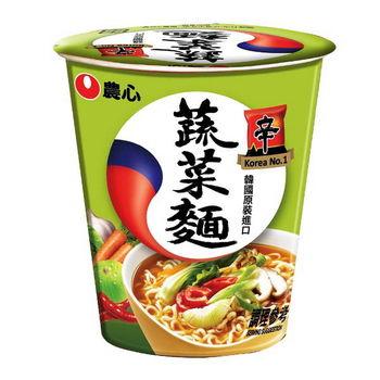 【農心】蔬菜杯麵(65gx12杯/箱)