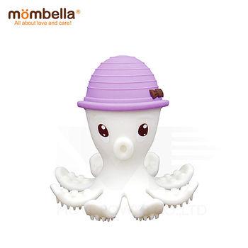 英國《mombella 》樂咬咬章魚固齒器(紫色)