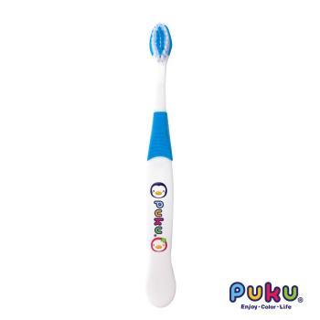 PUKU藍色企鵝 - 兒童牙刷(藍色)