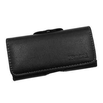 X mart ASUS ZenFone 3 ZE552KL 5.5吋 紳士薄型橫式腰掛皮套
