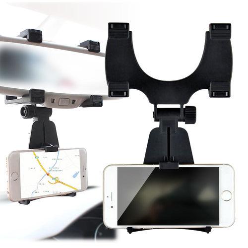 uni 3.5吋~6.3吋 後視鏡手機車架車用導航固定架