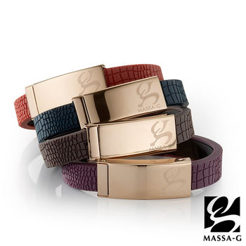 MASSA-G 【Vintage金典風尚】鍺鈦手環