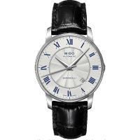 MIDO Baroncelli II 羅馬假期機械腕錶 ^#45 銀 ^#47 38mm
