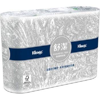 舒潔-超優質捲筒衛生紙270節x6捲/袋x12袋/箱