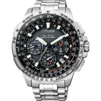 CITIZEN 光動能GPS衛星對時鈦金屬 腕錶 ^#45 47mm CC9020 ^#4