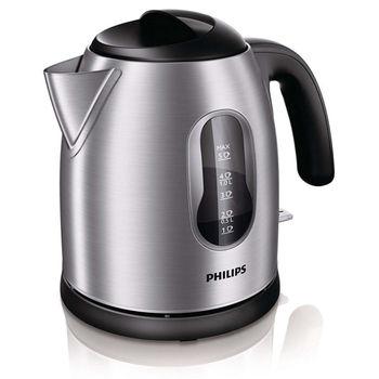 【PHILIPS飛利浦】1.25L不鏽鋼電茶壺 HD4622
