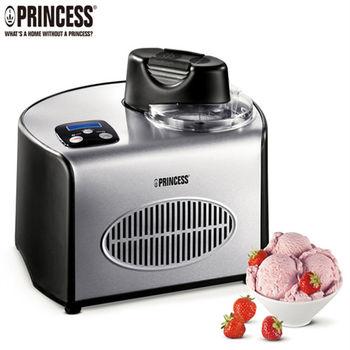 送咖啡機《PRINCESS荷蘭公主》超靜音數位全自動冰淇淋機282600