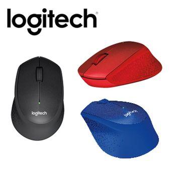 Logitech 羅技 M331 無線靜音滑鼠 ( 藍色 / 紅色 / 黑色 )
