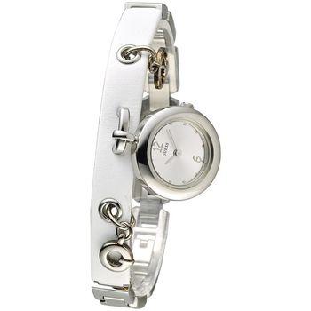 GUESS 流星心語時尚造型女錶-白(65158L2)