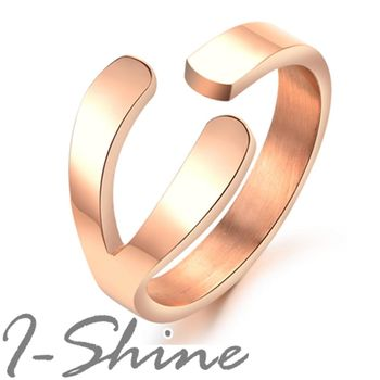 【I-Shine】繼承者們 - 許願骨鈦鋼造戒指