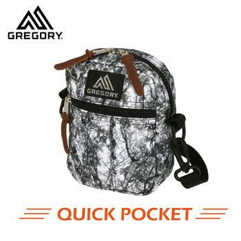 【美國Gregory】Quick Pocket日系休閒側背包-樹影迷彩-M