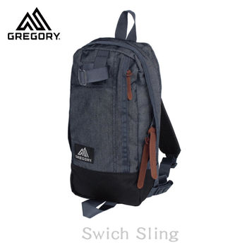 【美國Gregory】Switch Sling日系休閒斜肩包-單寧藍