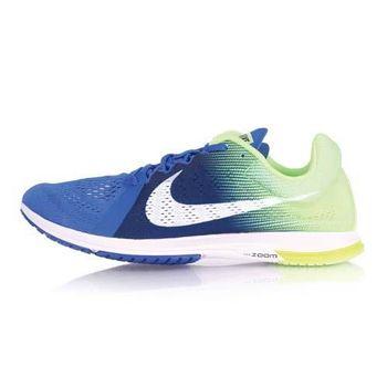 【NIKE】ZOOM STREAK LT 3 男路跑訓練鞋- 慢跑 路跑 健身 寶藍綠