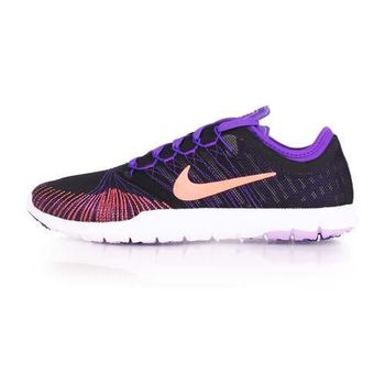【NIKE】WMNS FLEX ADAPT TR 女訓練鞋- 慢跑 路跑 健身 紫橘