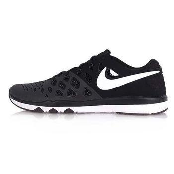 【NIKE】TRAIN SPEED 4 男訓練鞋- 慢跑 路跑 健身 黑白