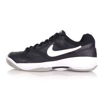 【NIKE】COURT LITE 男網球鞋 黑白
