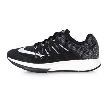 【NIKE】WMNS AIR ZOOM ELITE 8 女慢跑鞋- 路跑 輕量 黑白