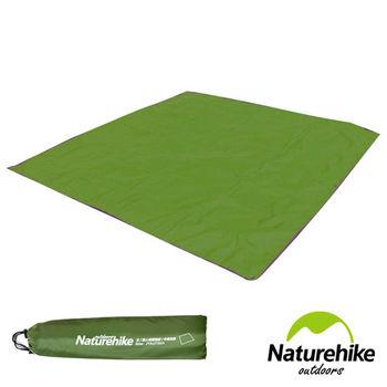 Naturehike 戶外6孔帳篷地席 天幕帳布 M號(3.4人)軍綠