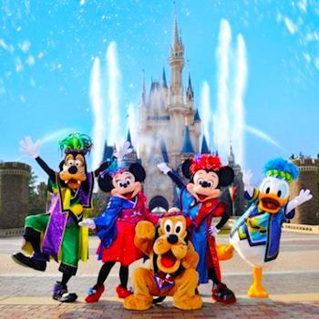 香港迪士尼澳門橫琴海洋王國歡樂四日