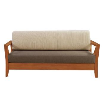 Bernice-奇爾實木沙發三人椅