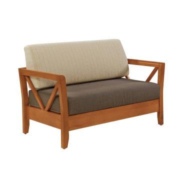 Bernice-奇爾實木沙發雙人椅