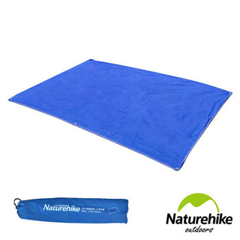 Naturehike 戶外6孔帳篷地席 天幕帳布 S號(雙人) 藍色