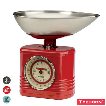 【TYPHOON】復古系列廚房磅秤2KG