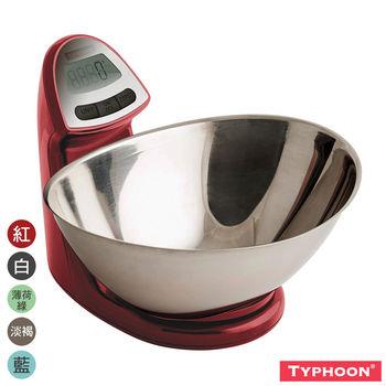 【TYPHOON】廚房料理電子磅秤5KG
