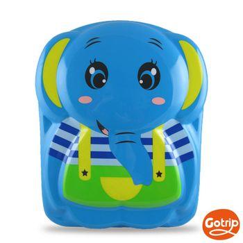 【GO TRIP 尚旅】 13吋 天空藍大象卡通兒童背包