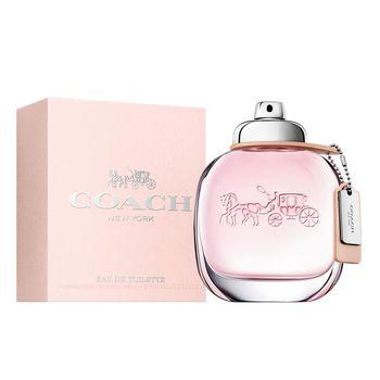 COACH 時尚經典女性淡香水 30ml+ADMJ 麂皮限量包