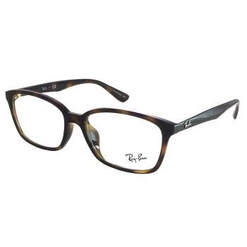 【Ray Ban 雷朋】RB7094D-2012 百搭光學眼鏡(琥珀框)