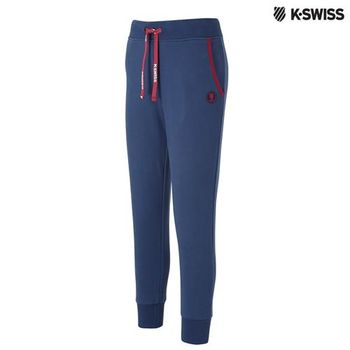 K-Swiss HEATHER Sweatpant棉質休閒長褲-女-單寧藍