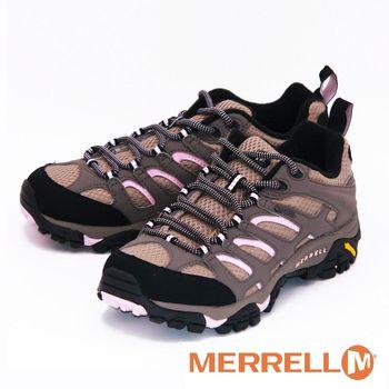 MERRELL MOAB GORE-TEX XCR 黃金大底低筒健行鞋 女鞋-褐