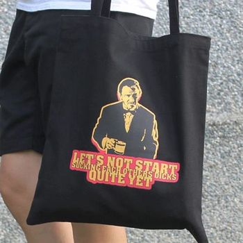 【SEIO】帆布包 環保包 經典歐美 SEIO 自定款設計環保帆布包 就是要帥大叔007 手拿肩背包