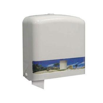 【Life】商業大捲筒衛生紙架-白色(C01800)